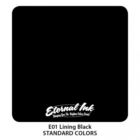 Eternal Ink - Lining Black 30ml