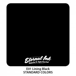 Eternal Bläck - Lining Black 60ml STOR FLASKA