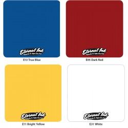 Eternal Bläck - Färg Kitt 4x30ml