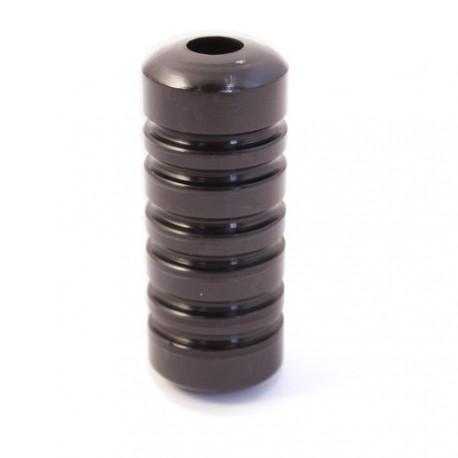 Aluminium grepp - Shiny Black